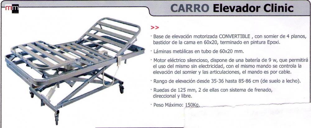 Carro Elevador Clinic
