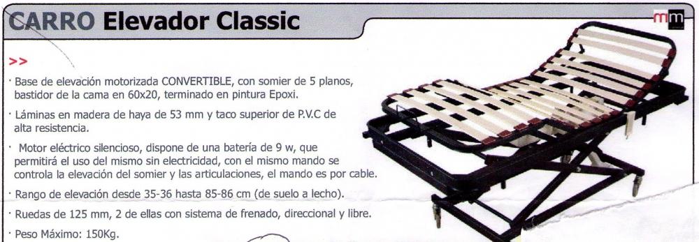 Carro Elevador Classic