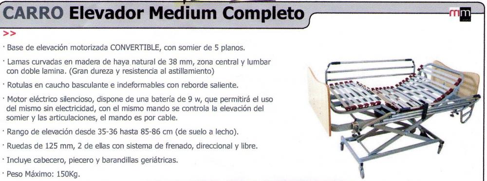 Carro Elevador Medium Completo