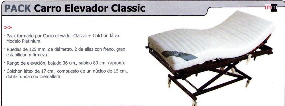 Pack Carro Elevador Classic