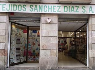 Almacén Tejidos Sánchez Díaz Venta al Mayor