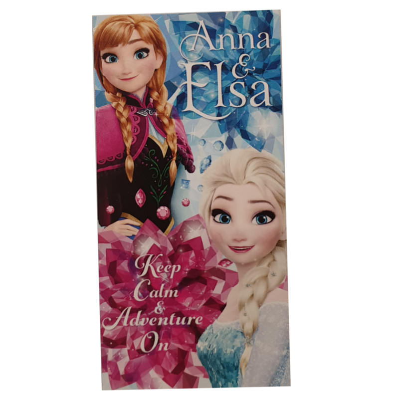 Toalla Playa Infantil Anna&Elsa Secaneta