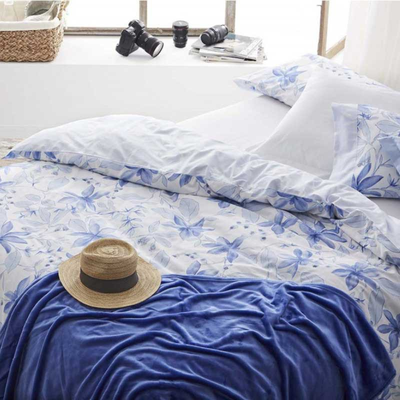Funda Nórdica s/ 503 Azul Burrito Blanco