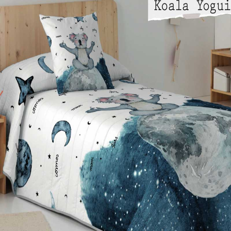 Colcha Bouti Koala Yogui Naturals