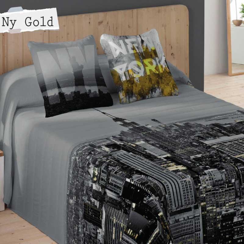 Colcha Bouti NY Gold Naturals